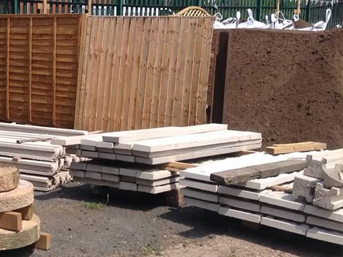 Heritage Builders Merchants Ltd. 600 x 450 Closeboard Fencing Panels & Gravel Boards