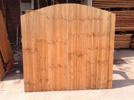 dipped featheredge panel